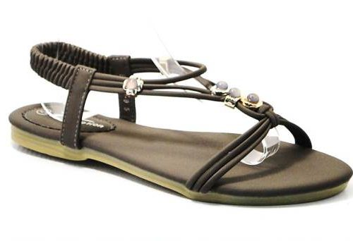 brown ladies sandal