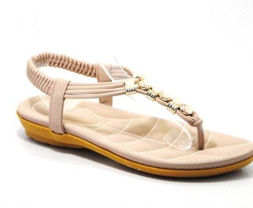 nude ladies sandal