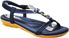 navy blue ladies sandal